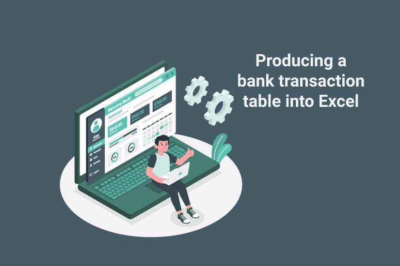 Producing Excel Table